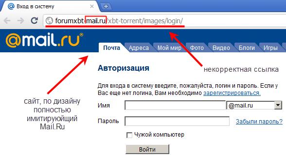 пишу как есть: 1. Взломали почтовый ящик на mail.ru 2. Пароль поменяли 3. В
